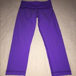 Lululemon athletica wunder under crop NWOT